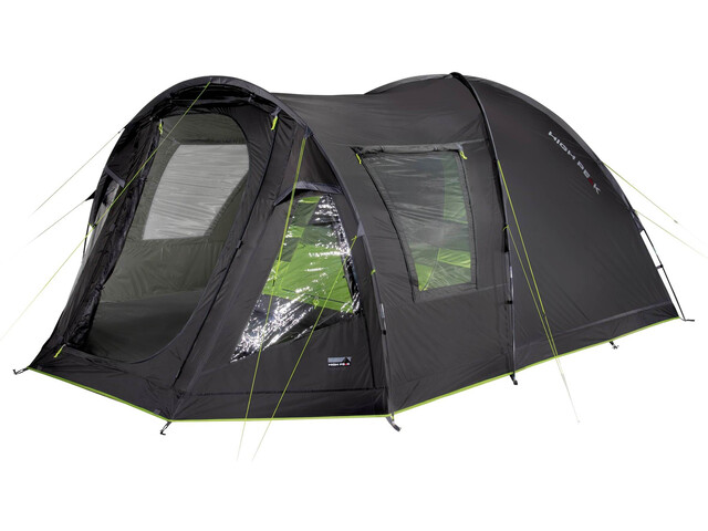 High Peak Andros 4.0 Tente, darkgrey/green
